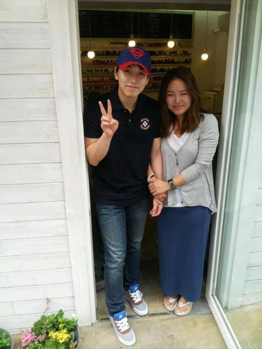 Nail & Foot Spa Facebook Update with sungmin
